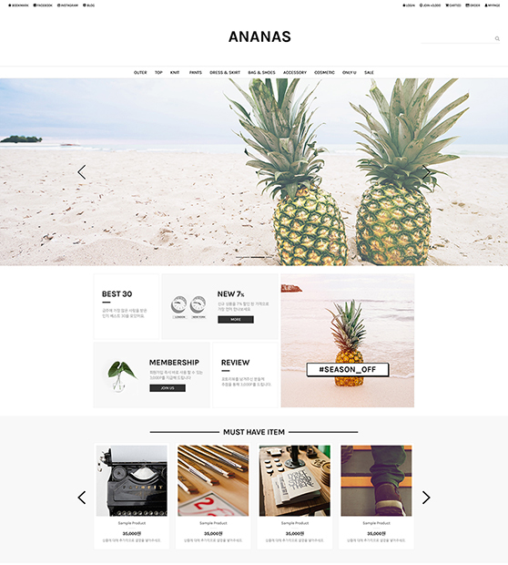 No.101 Ananas